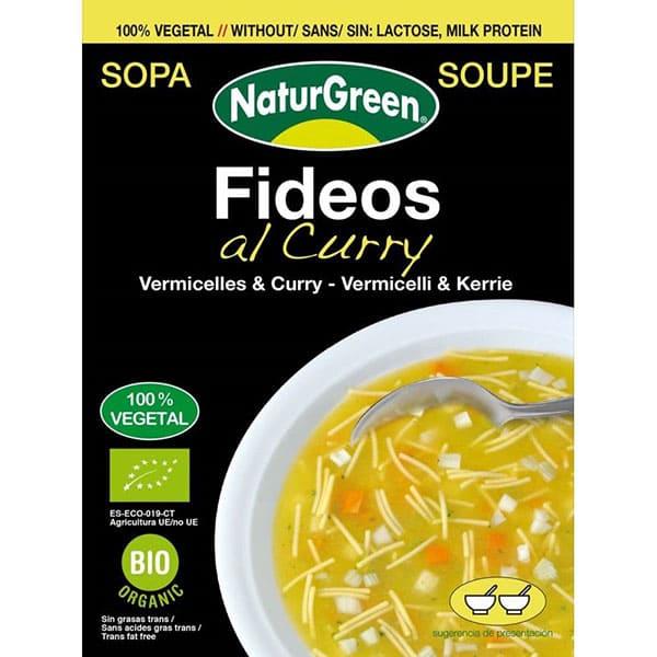 Sopa de Fideos al Curry 40g ECO