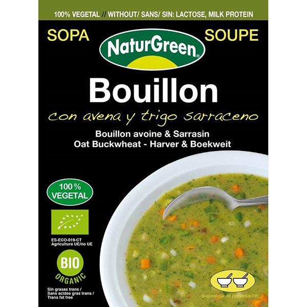 Sopa con avena y trigo sarraceno 40g ECO