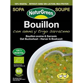 Sopa con avena y trigo sarraceno 40g
