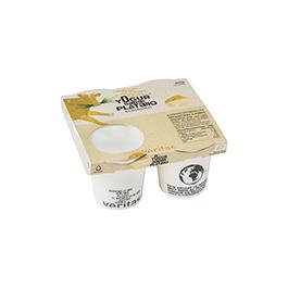 Yogur de plátano Veritas 4x125g ECO