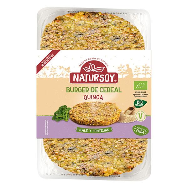 Hambr.quinoa, kale y lentejas ECO