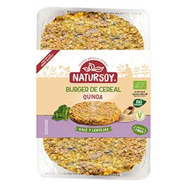 Hambr.quinoa, kale y lentejas 200g