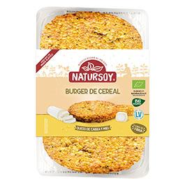 Hamb. Cebada/queso cabra/miel ECO