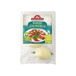 Mozzarella veggie 120g