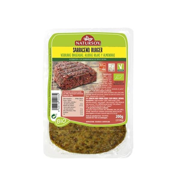 Hambr.T.Sarraceno/verduras 200g