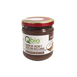Crema de cacao/coco/avellanas 200g