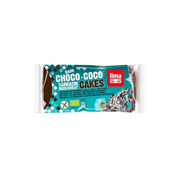 Tort.trigo sarraceno choc negro-coco 90g
