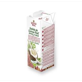 Bebida arroz quinoa y coco 1l
