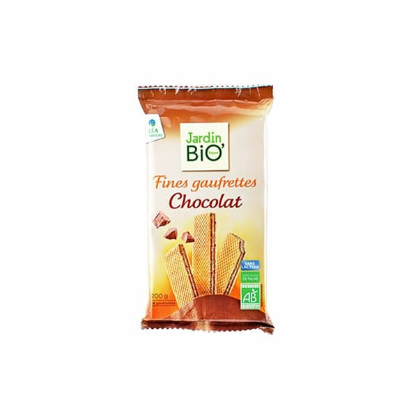 Waffers de chocolate 200g ECO