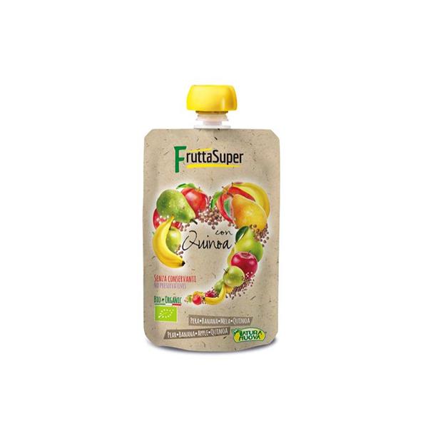 Puré frutas con quinoa 120g ECO