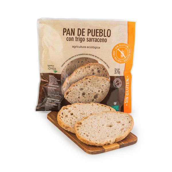 Pan de pueblo sin gluten 370g ECO