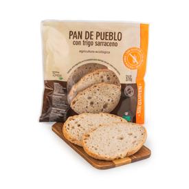 Pan de pueblo sin gluten 370g