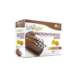 Barritas cacao proteínas 6X36g ECO