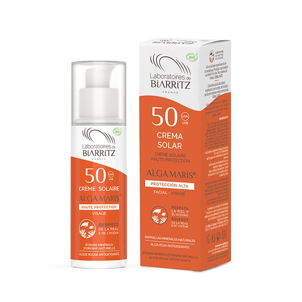 Crema solar facial SPF50 50ml ECO