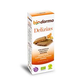 Delicias naranja/curcu ECO