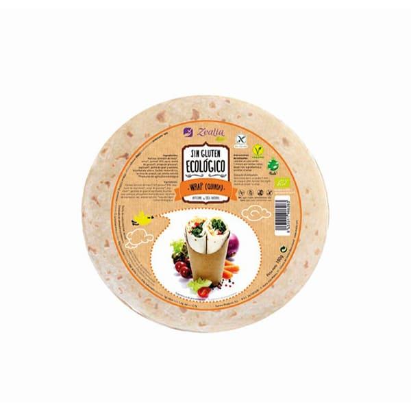 Wrap quinoa s/gluten 180g