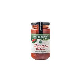 Salsa Tomate con verduras 200g
