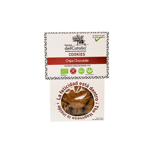 Cookies chips chocolate 135g ECO