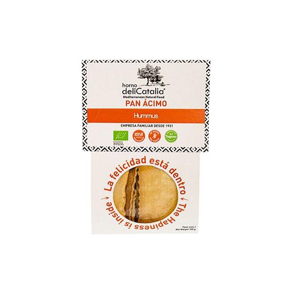 Pan ácimo hummus 100g ECO