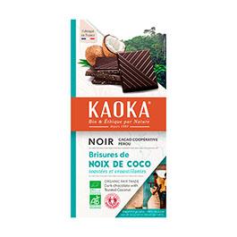 Chocolate negro con coco 100g