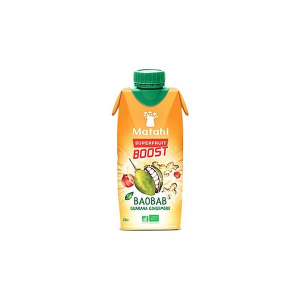 Bebida baobab guaraná y jengibre 330ml