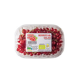 Grosella roja bandeja 125gr