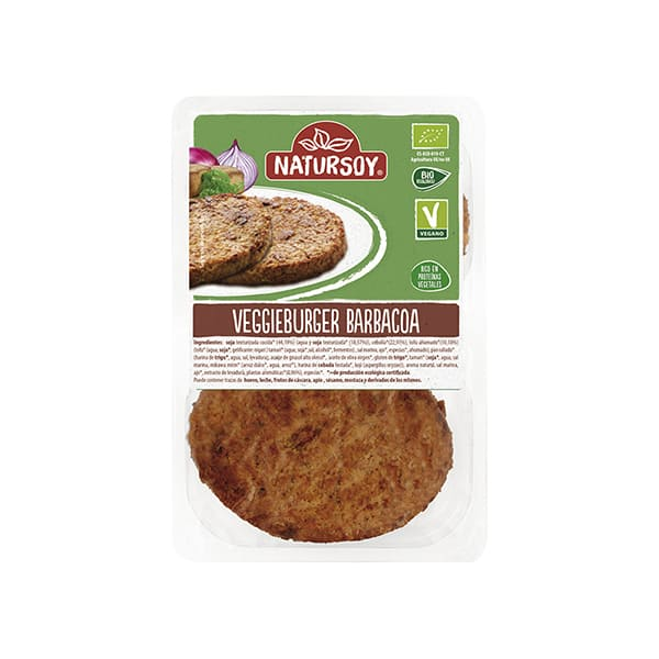Veggieburger barbacoa 200g ECO