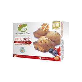 Muffins frutos rojos 160g