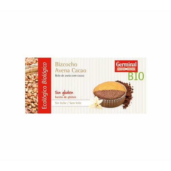 Bizcocho avena cacao s/g 180g ECO