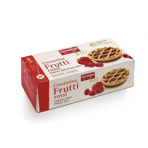 Tartaleta frutos rojos s/g ECO
