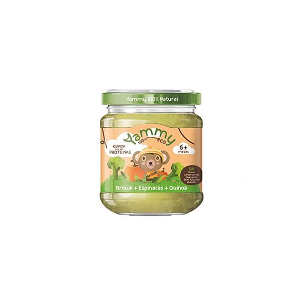 Puré brócoli, espinacas y quinoa 195g ECO