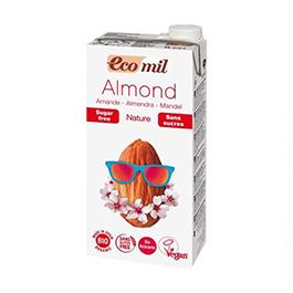Bebida almendra s/azúcar 1l ECO