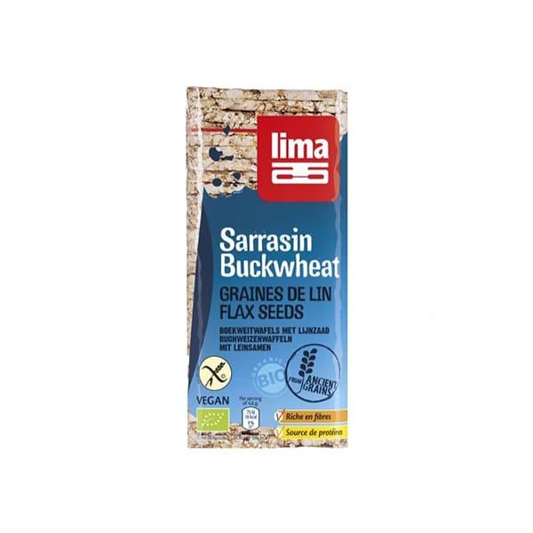 Tortitas trigo sarraceno/lino ECO