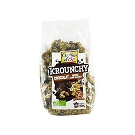 Crunchy avena choco s/gluten 500g ECO
