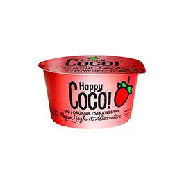 Postre coco fresa 125g