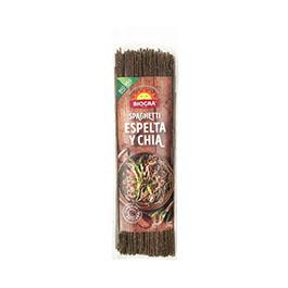 Espaguetis de espelta y chía 250g