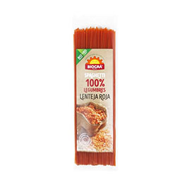 Espaguetti lent. roja ECO