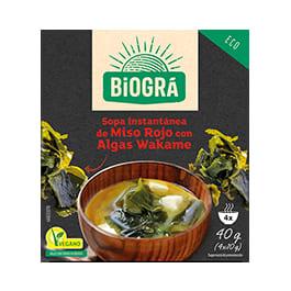 Sopa miso con algas 40g