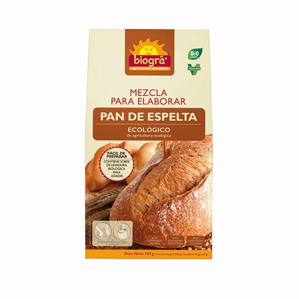 Mezcla de pan de espelta 510g