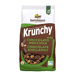 Crunchy sun chocolate negro 375g ECO