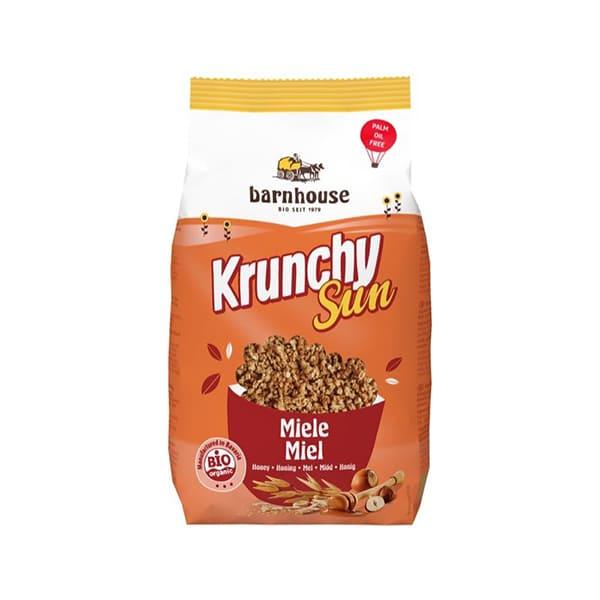 Crunchy sun Miel 375g ECO