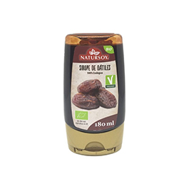 Sirope Dátiles Natursoy 180g