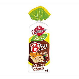 Pan de leche chips chocolate 6x39g