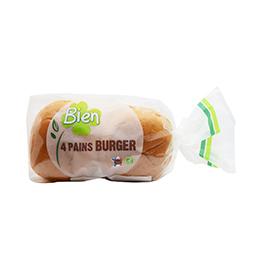 Brioche para hamburguesa 4u ECO