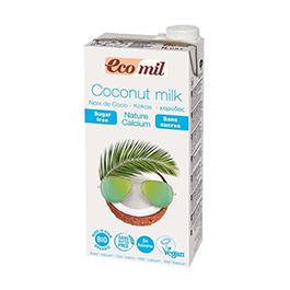 Bebida coco s/azúcar con calcio 1l ECO