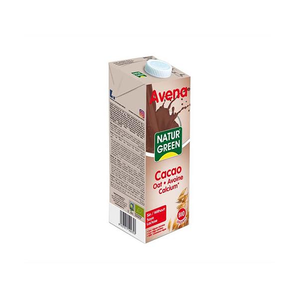 Bebida avena y cacao c/calcio 200ml ECO