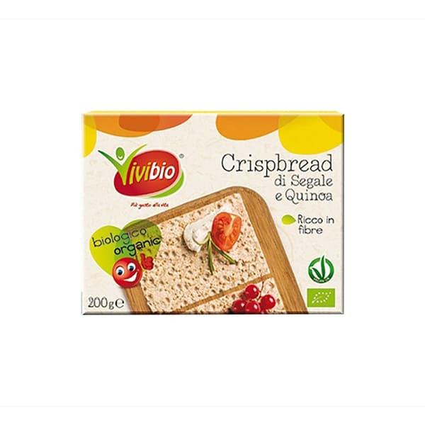 Pan crujiente centeno/quinoa ECO