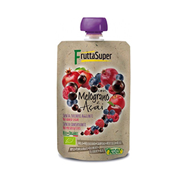Purè fruits vermells i açai 120g ECO