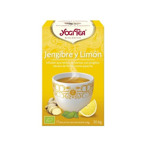 Infusión Jengibre limón 17b ECO