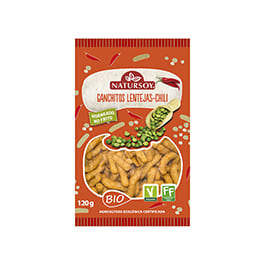 Ganchitos lentejas y chili 75g